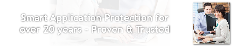 Smart Application Protection for over 20 years - Proven & Trusted